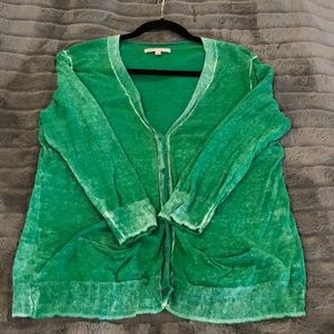 Gap Slouchy distressed cardigan sweater - size:  M
